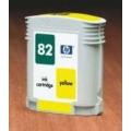 Cartucho HP Nº 82  amarelo