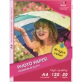 Papel Photo High Glossy Inkjet (cast coated)130g A4 50Folhas