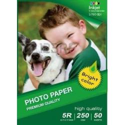 Papel 13X18CM B6 Glossy Inkjet Photo  260g-50 Folhas