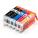 Pack 5 Tinteiros Alimentares Canon PGI550BK + CLI551BK/C/M/Y