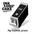 Tinteiro Alimentar Canon PGI-550BK XXL preto
