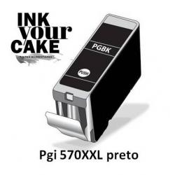 Tinteiro Alimentar Canon PGI-570BK XXL preto
