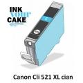 Tinteiro Alimentar Canon CLI-521C XL Cian