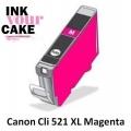 Tinteiro Alimentar Canon CLI-521M XL Magenta