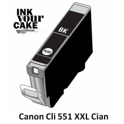 Tinteiro Alimentar Canon CLI-551BK XXL Preto