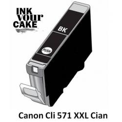 Tinteiro Alimentar Canon CLI-571BK XXL preto