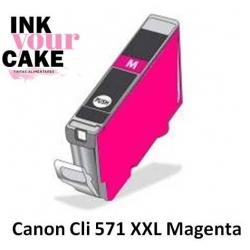 Tinteiro Alimentar Canon CLI-571M XXL magenta